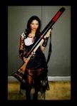 Austin Wizard World 2011--Preacher's Powderworks & Projectiles rifle