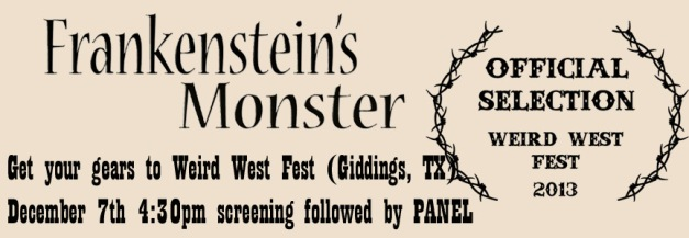 Frankenstein's Monster at Weird West Fest