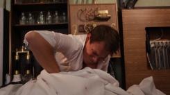 Dustin Sturgill (Victor Frankenstein) Works in lab